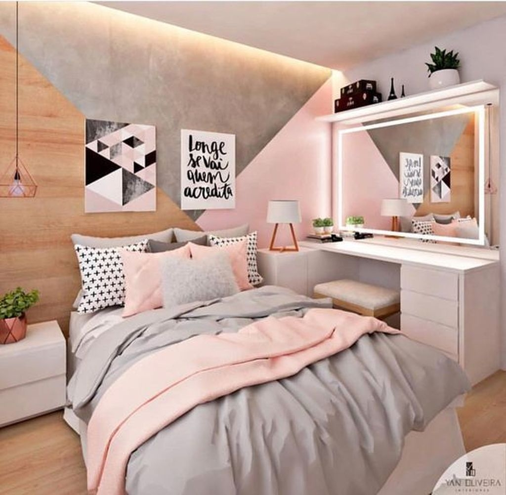 50 Pink Bedroom Decor You Can Try On Your Own Sweetyhomee