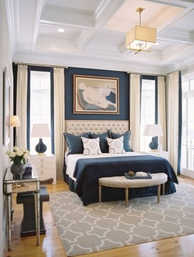 Small Master Bedroom Design With Elegant Style 34