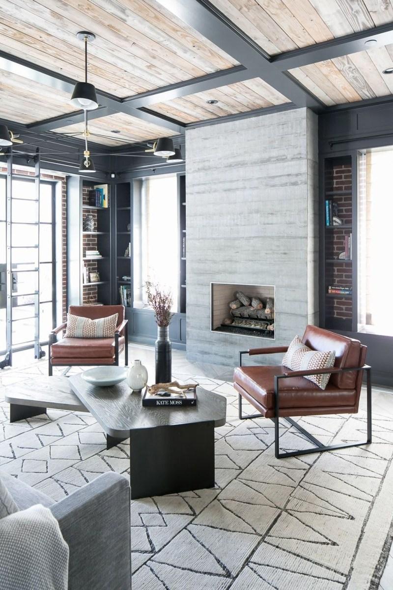 Stunning Modern Black Home Decor 12