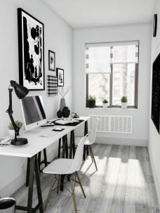 Stunning Modern Black Home Decor 29