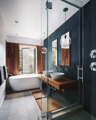 Stunning Modern Black Home Decor 33