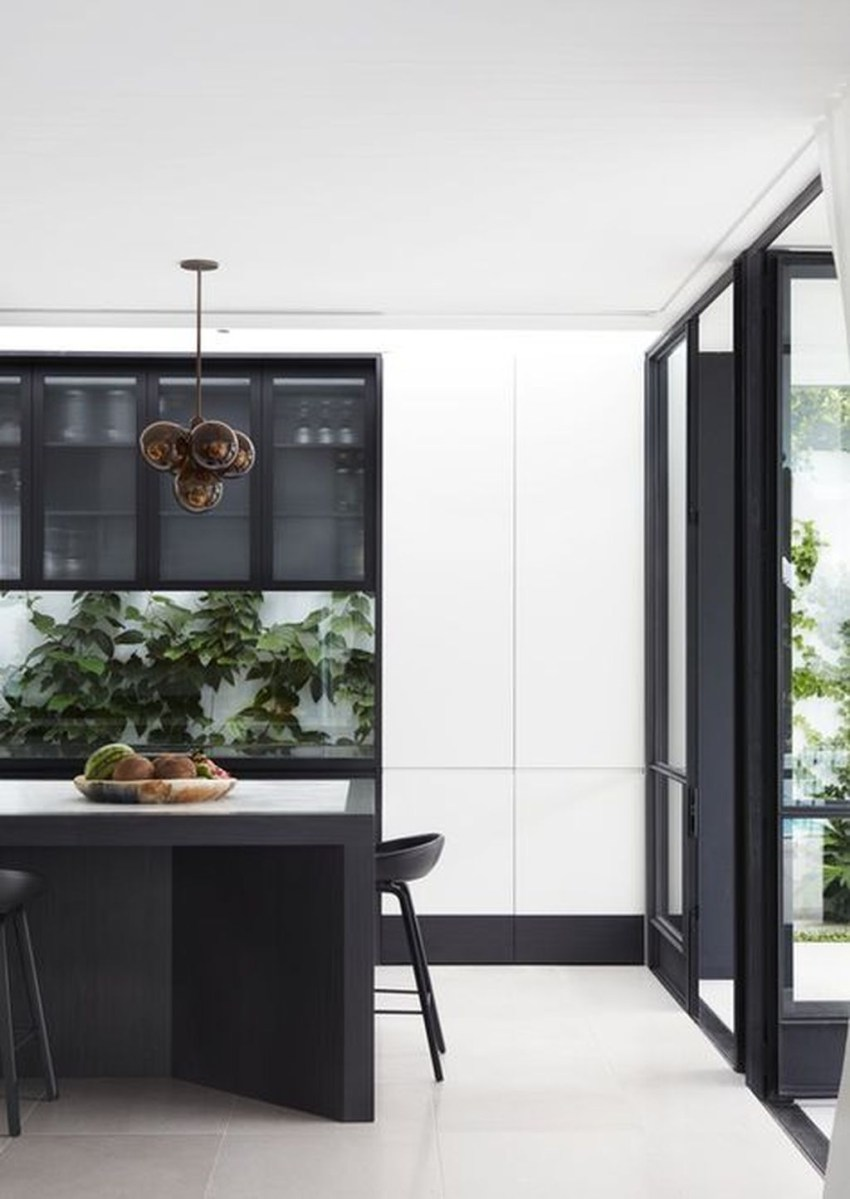 Stunning Modern Black Home Decor 37