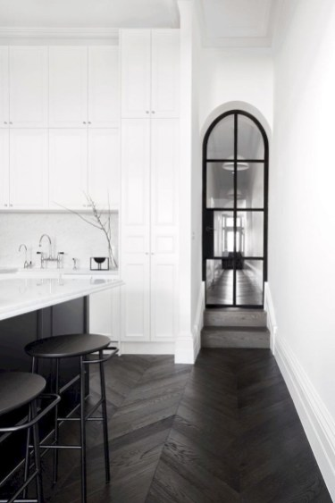 Stunning Modern Black Home Decor 43