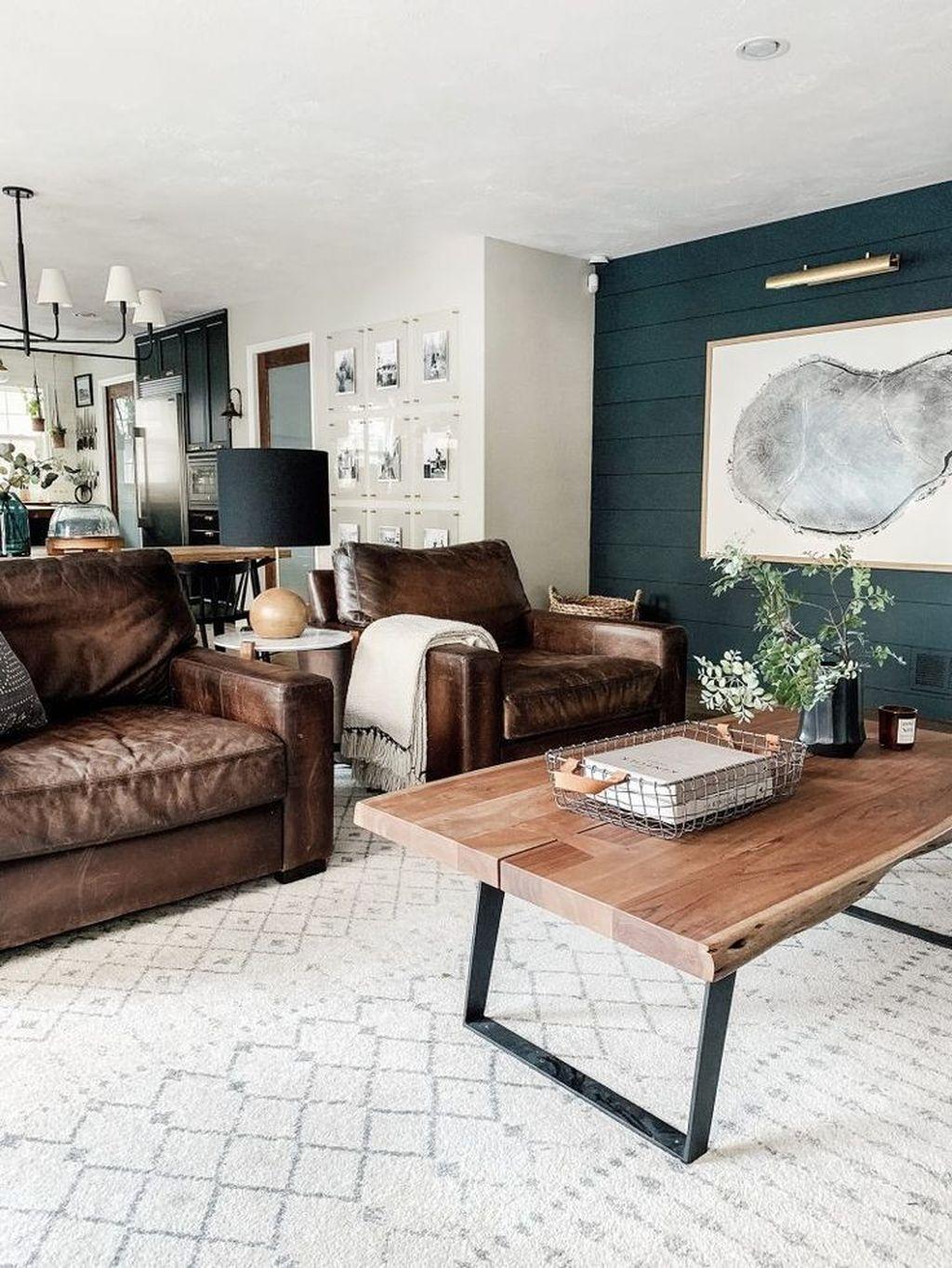 Stunning Modern Mid Century Living Room Design 09