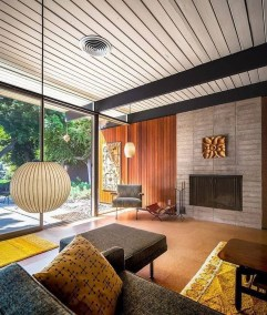 Stunning Modern Mid Century Living Room Design 26