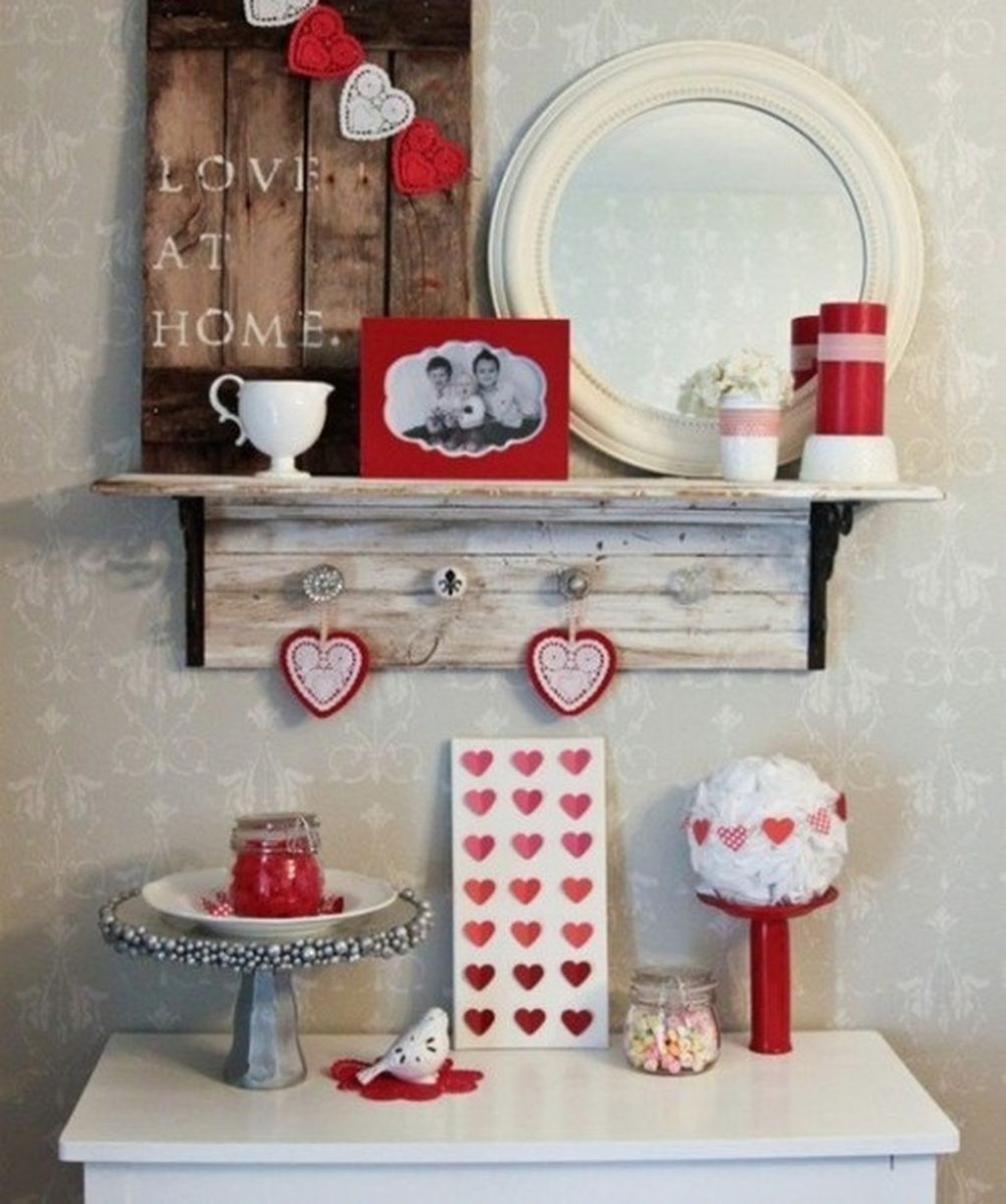 Sweet Valentines Day Bathroom Decor, Forget The Old One 02