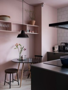 Upgrading Your Wall For Romantic Kitchen Decorations 41