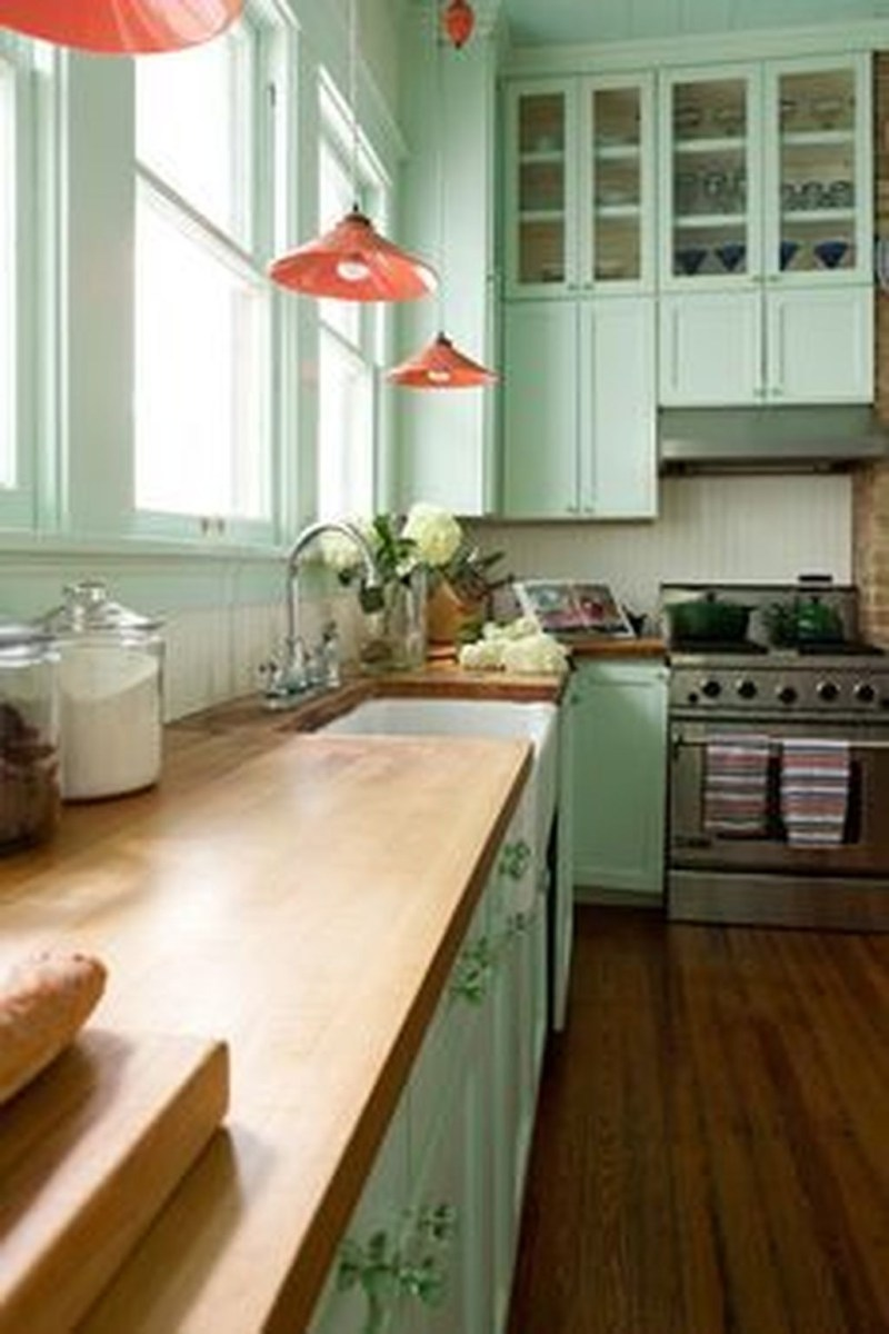 Upgrading Your Wall For Romantic Kitchen Decorations 48