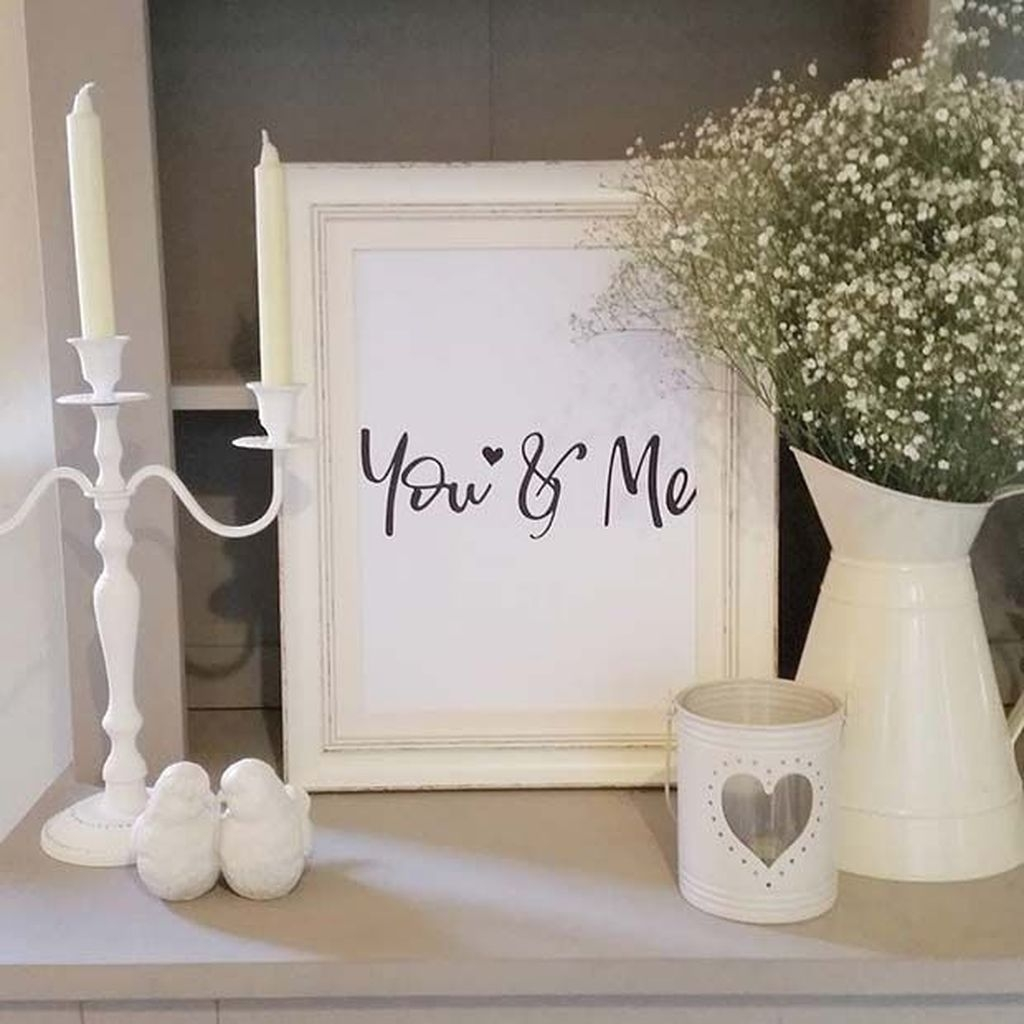 Valentines Day Home Decor With White Color Scheme 02