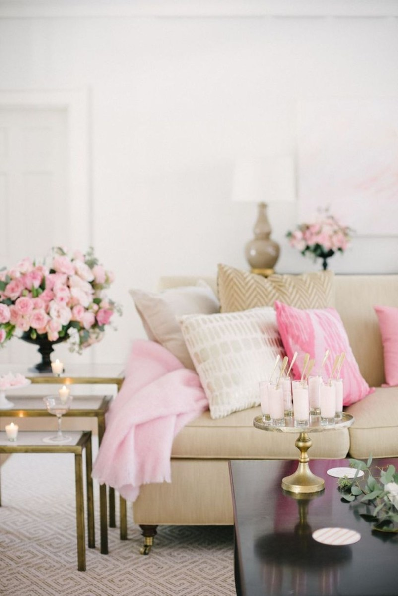 Valentines Day Home Decor With White Color Scheme 12