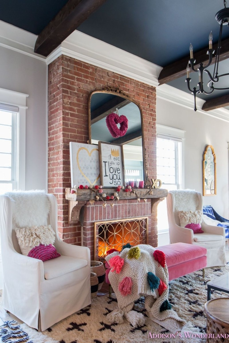 Valentines Day Home Decor With White Color Scheme 13