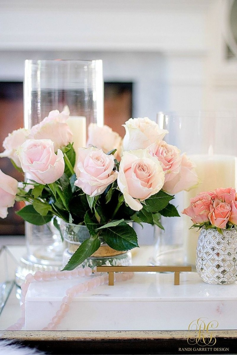Valentines Day Home Decor With White Color Scheme 33
