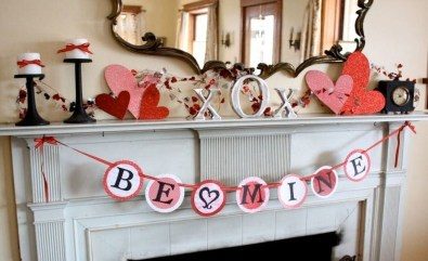 Valentines Day Home Decor With White Color Scheme 36
