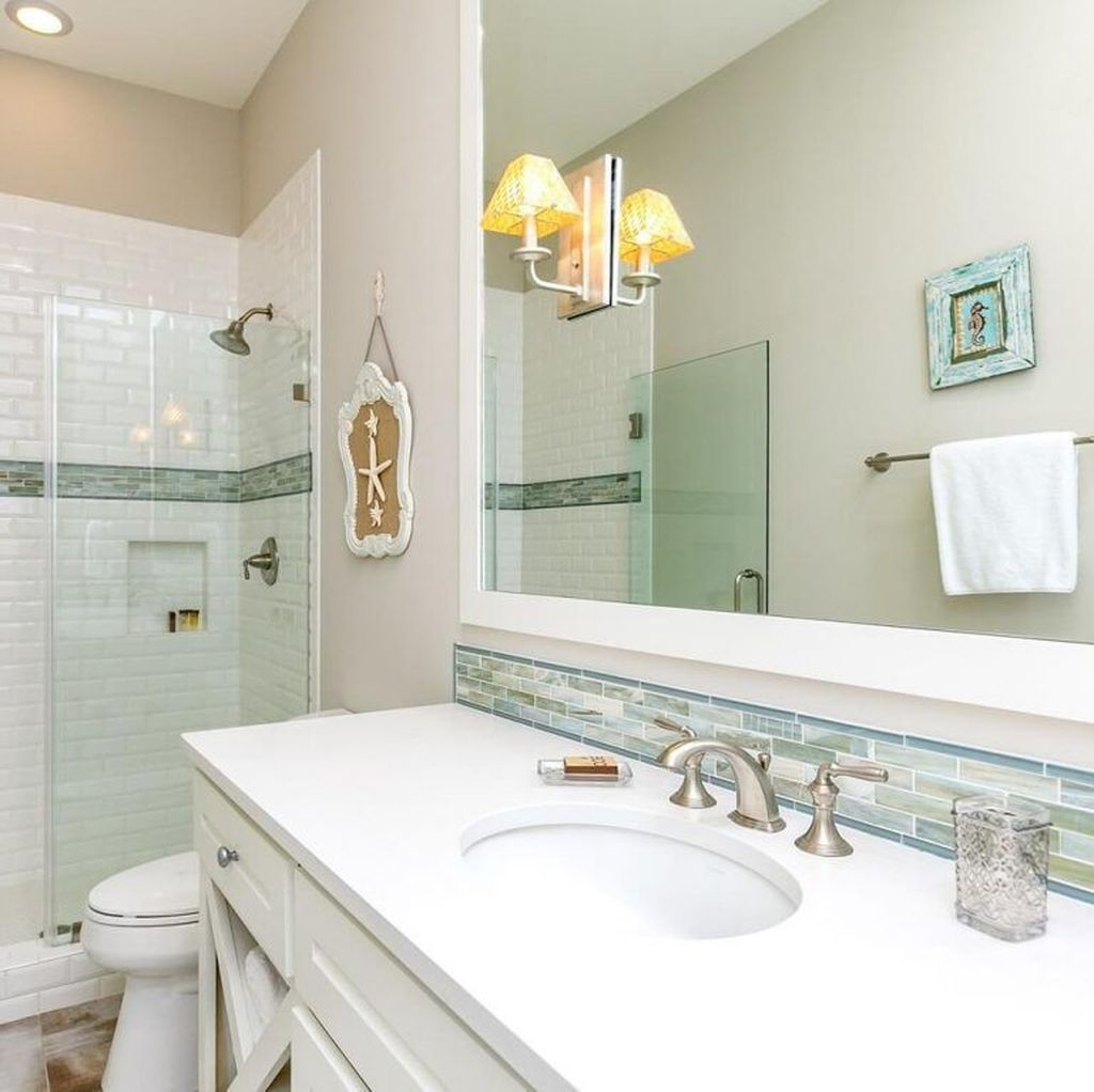Nice Bathroom Decoration With Coastal Style 01