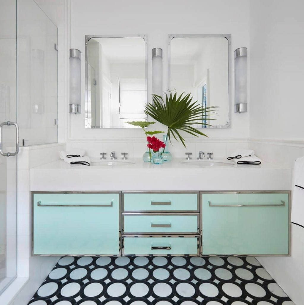 Nice Bathroom Decoration With Coastal Style 19