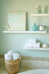 Nice Bathroom Decoration With Coastal Style 21
