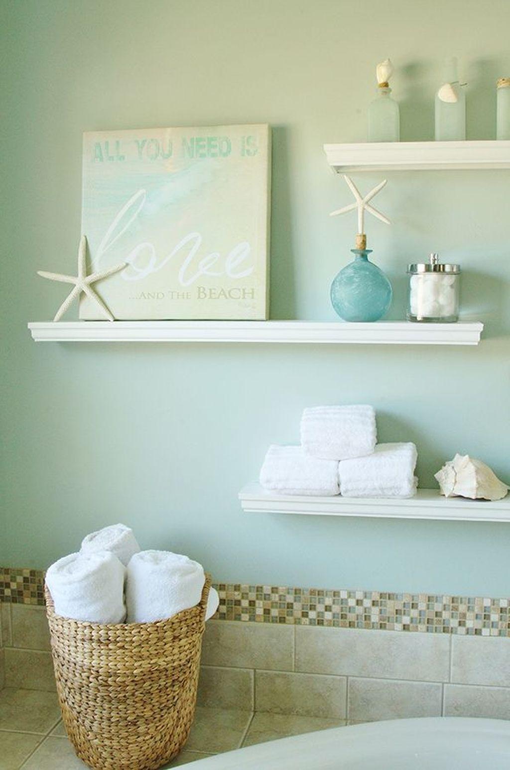 Nice Bathroom Decoration With Coastal Style 29