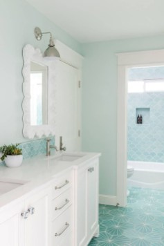 Nice Bathroom Decoration With Coastal Style 31