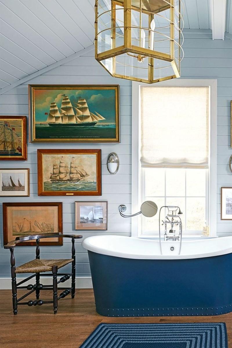 Nice Bathroom Decoration With Coastal Style 37