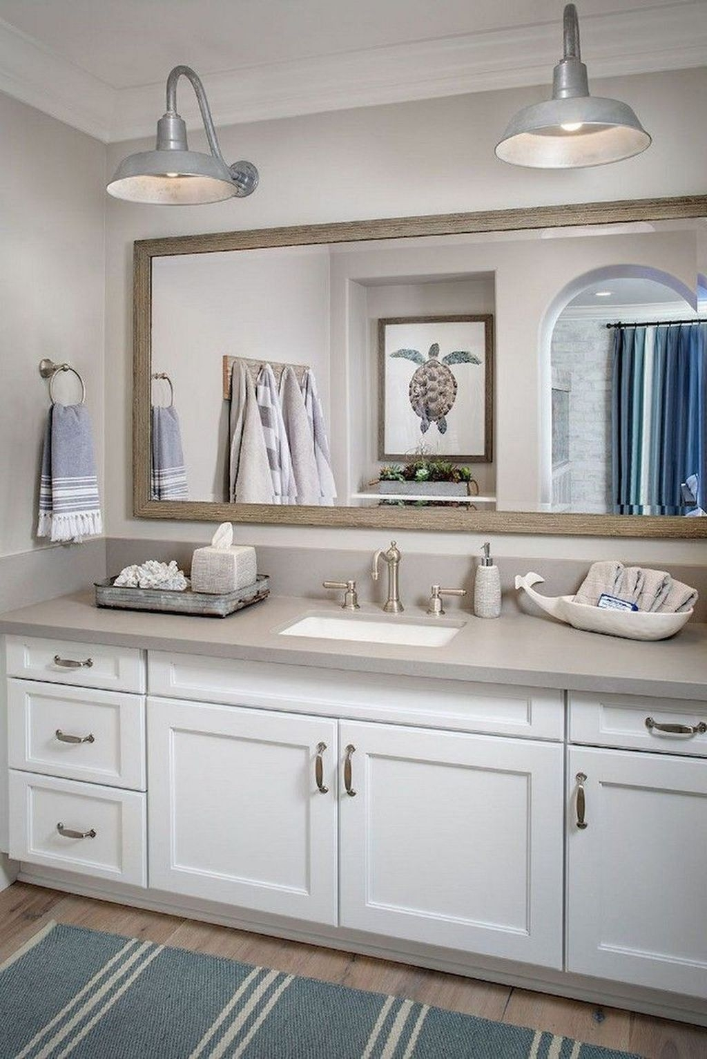 Nice Bathroom Decoration With Coastal Style 47