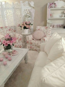 Nice Shabby Chic Living Room Decor You Need To Have 40