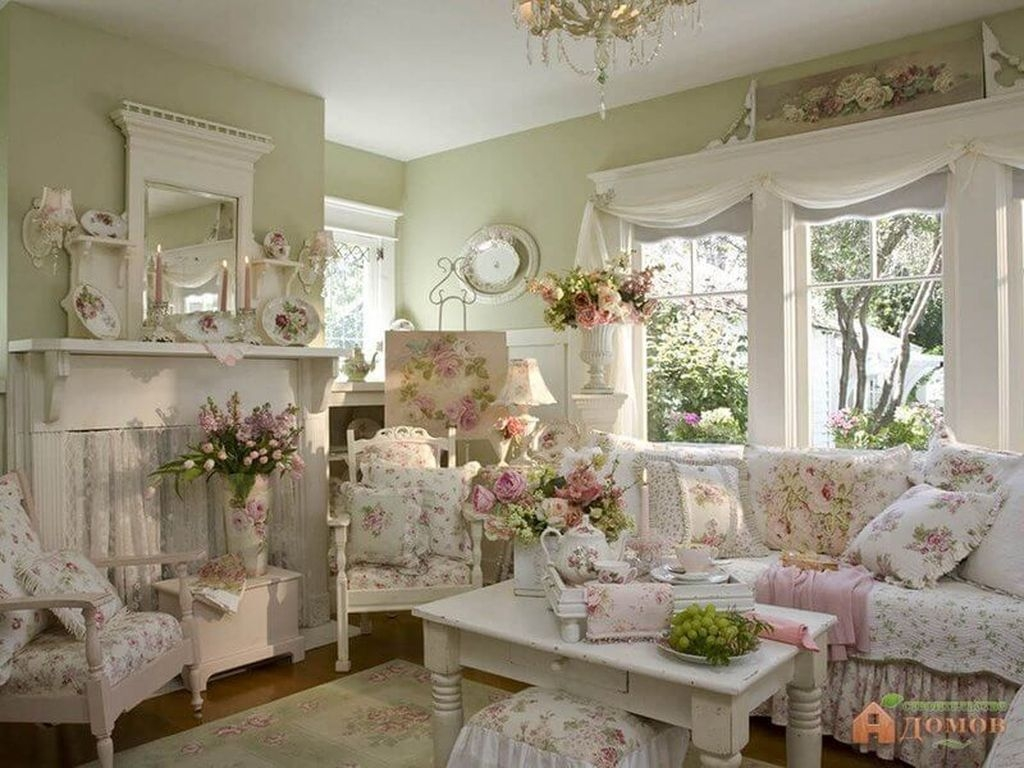 Nice Shabby Chic Living Room Decor You Need To Have 44