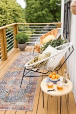Popular Apartment Balcony Design For Small Spaces 02