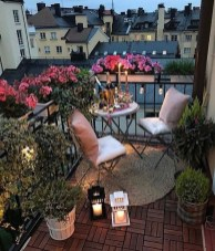 Popular Apartment Balcony Design For Small Spaces 04