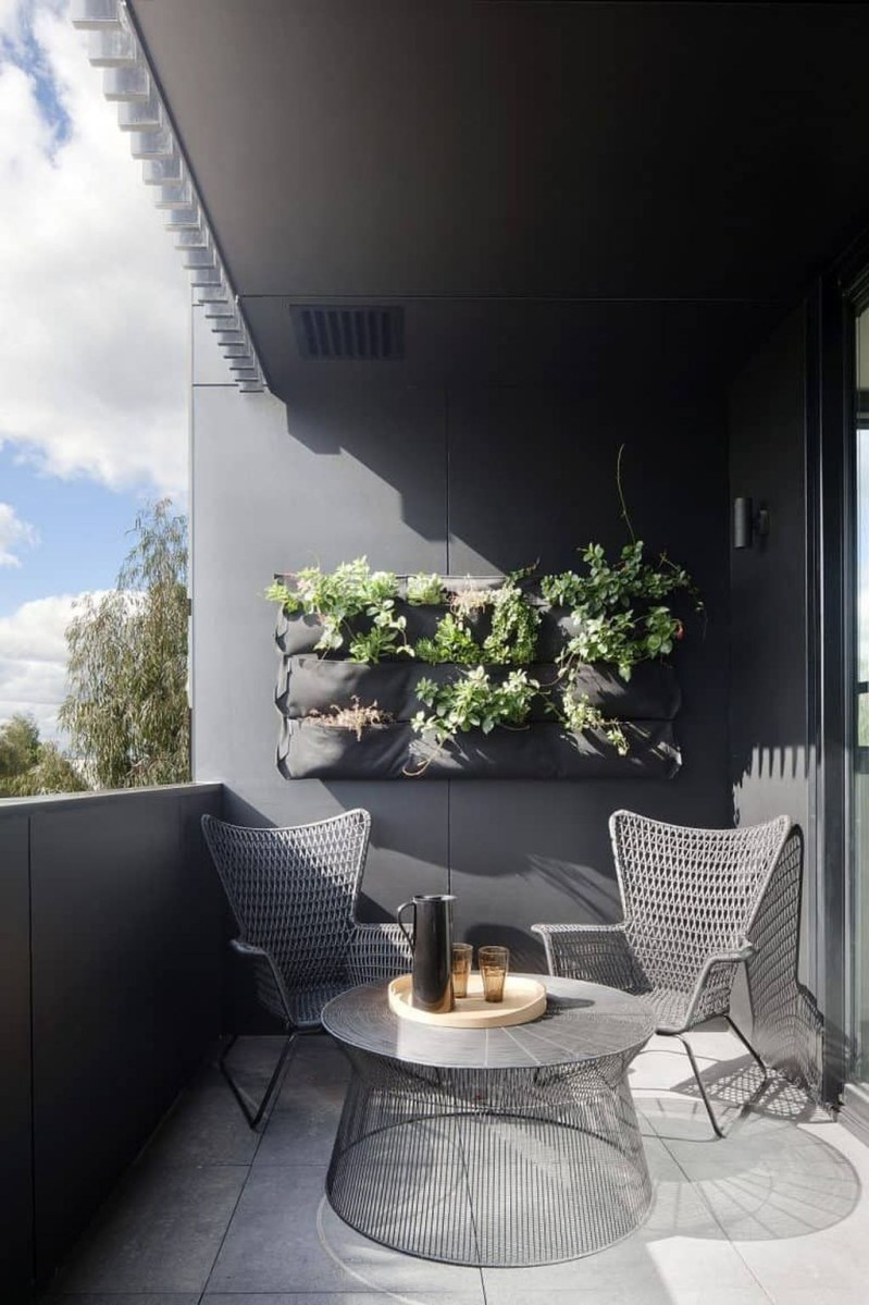 Popular Apartment Balcony Design For Small Spaces 08