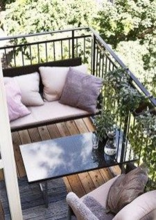 Popular Apartment Balcony Design For Small Spaces 14