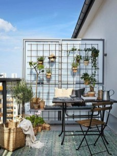 Popular Apartment Balcony Design For Small Spaces 19