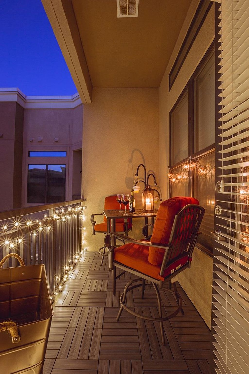 Popular Apartment Balcony Design For Small Spaces 23