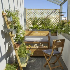 Popular Apartment Balcony Design For Small Spaces 30
