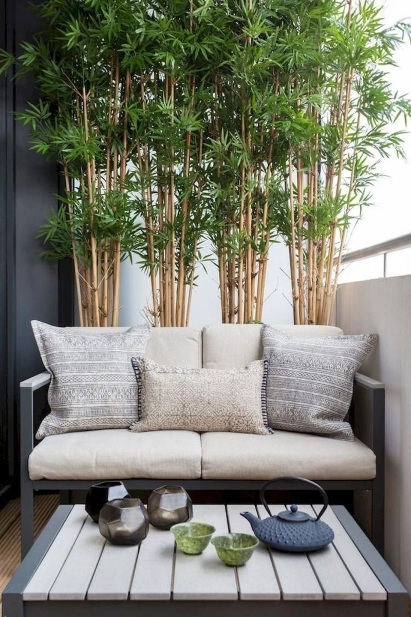 Popular Apartment Balcony Design For Small Spaces 43