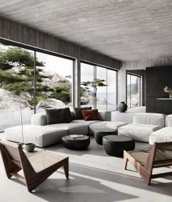 Contemporary Home Design Ideas For Living Room 15