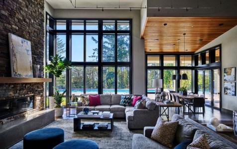 Contemporary Home Design Ideas For Living Room 24