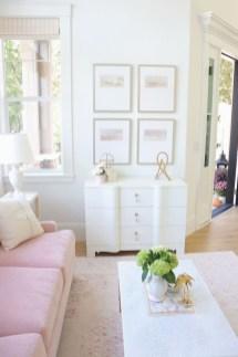 Lovely Pink Living Room Decor Ideas 01