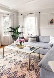 Lovely Pink Living Room Decor Ideas 39
