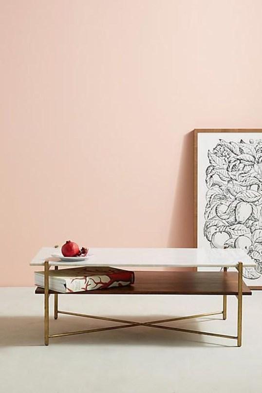 Lovely Pink Living Room Decor Ideas 45