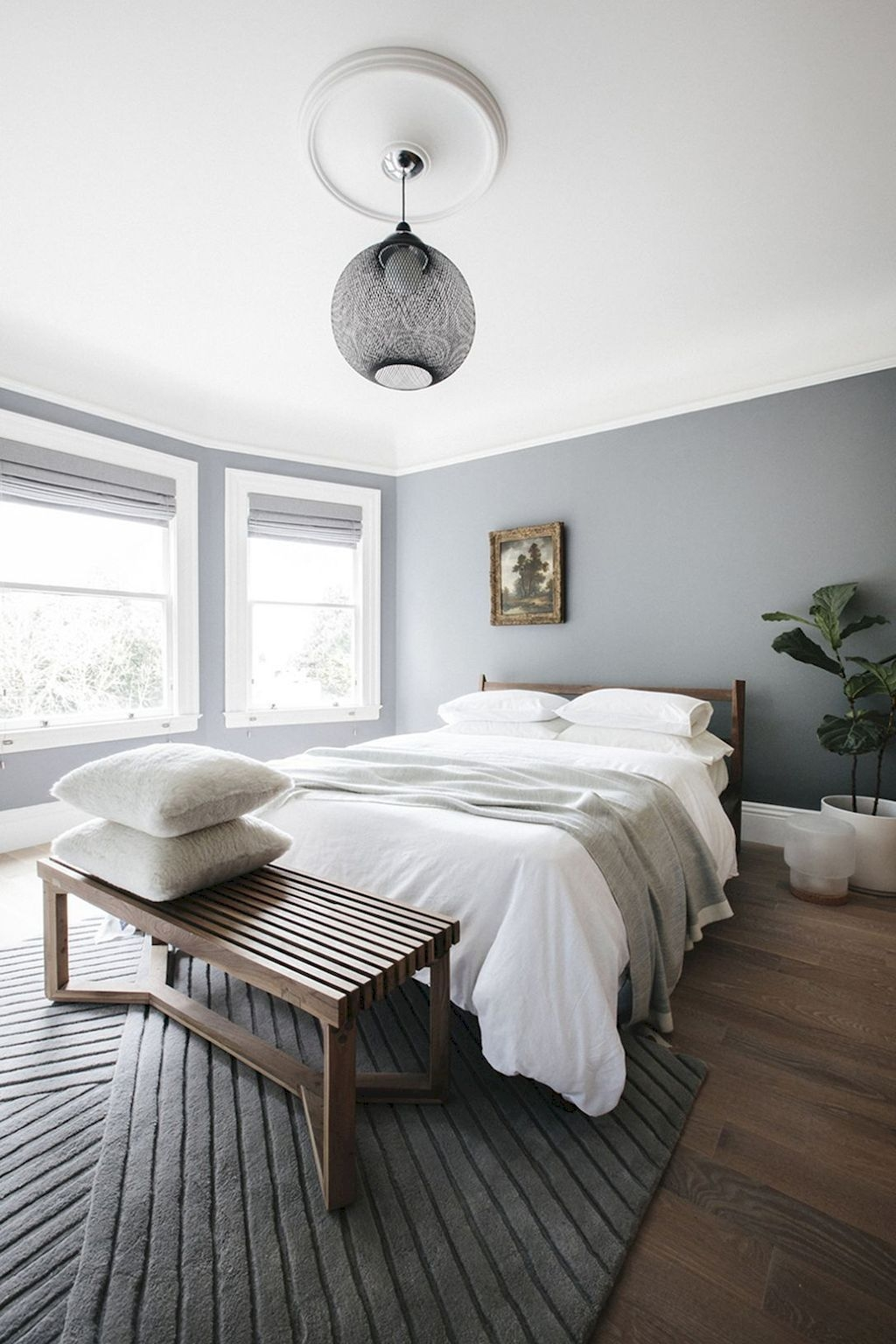 Minimalist Scandinavian Bedroom Decor Ideas 04