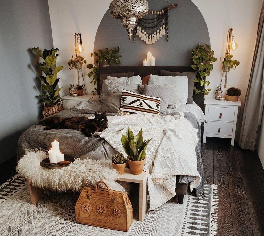 Minimalist Scandinavian Bedroom Decor Ideas 07