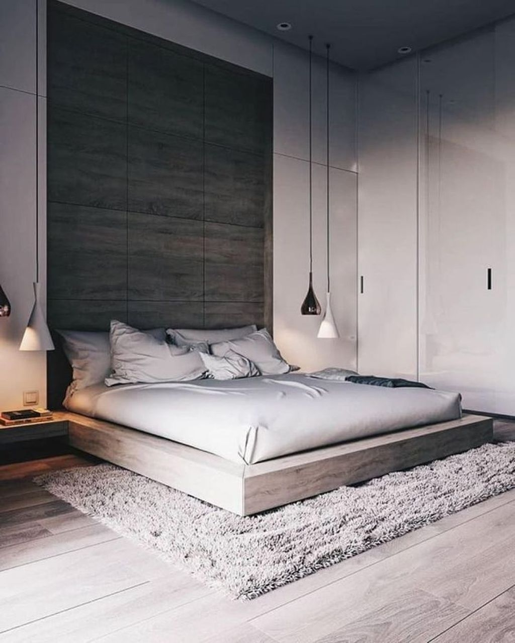 Minimalist Scandinavian Bedroom Decor Ideas 08