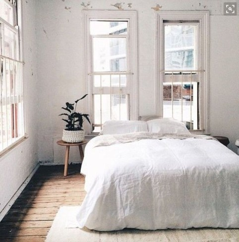 Minimalist Scandinavian Bedroom Decor Ideas 11