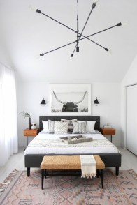 Minimalist Scandinavian Bedroom Decor Ideas 16