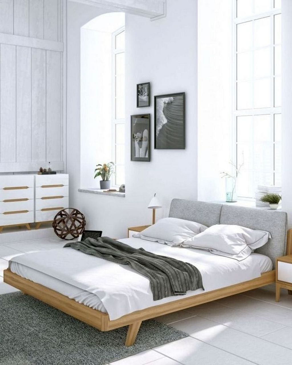 Minimalist Scandinavian Bedroom Decor Ideas 19