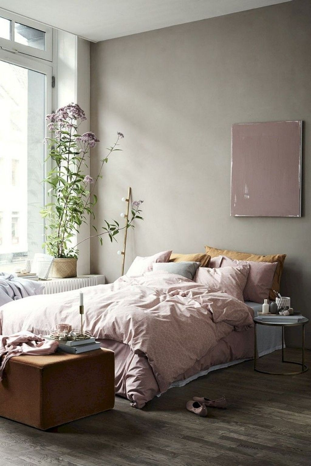 Minimalist Scandinavian Bedroom Decor Ideas 22