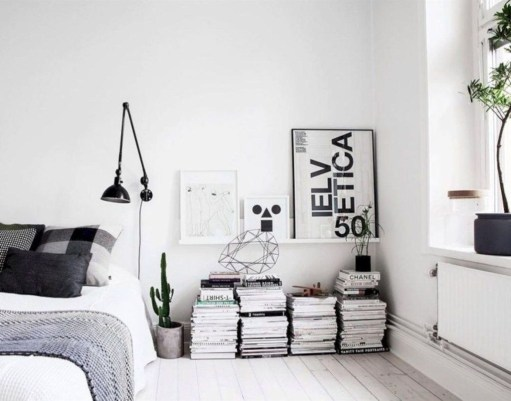 Minimalist Scandinavian Bedroom Decor Ideas 28