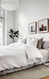 Minimalist Scandinavian Bedroom Decor Ideas 40