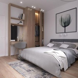 Minimalist Scandinavian Bedroom Decor Ideas 41