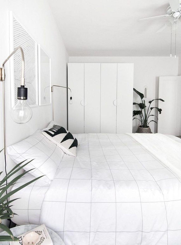 Minimalist Scandinavian Bedroom Decor Ideas 43